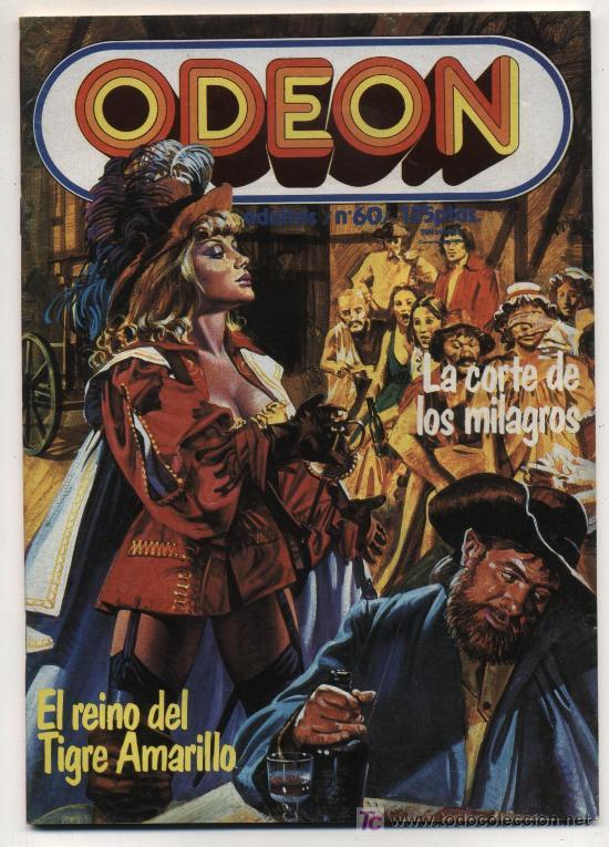ODEÓN Nº 60. ZINCO. (66 PÁGINAS) (Tebeos y Comics - Zinco - Otros)