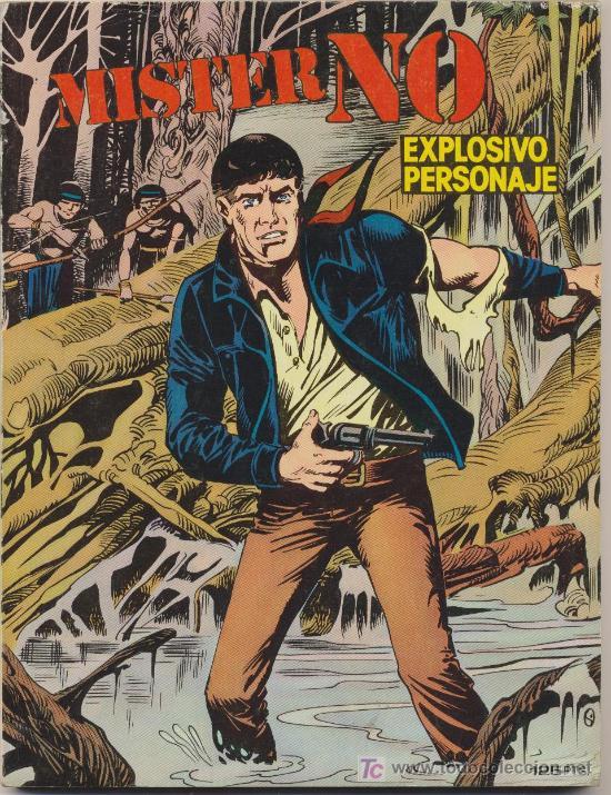 MISTER NO. ZINCO 1982. LOTE DE 10 EJEMPLARES (DEL Nº 1 AL 10) (Tebeos y Comics - Zinco - Otros)