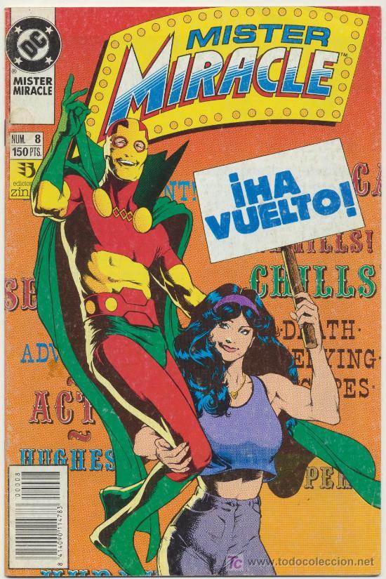 MISTER MIRACLE Nº 8 (Tebeos y Comics - Zinco - Otros)