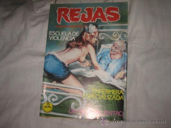 REJAS Nº 3 EDICIONES ZINCO RELATOS GRAFICOS PARA ADULTOS (Tebeos y Comics - Zinco - Otros)
