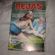 Cómics: REJAS Nº 3 EDICIONES ZINCO RELATOS GRAFICOS PARA ADULTOS. Lote 197221007