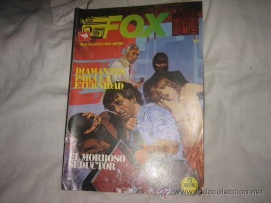 FOX Nº 6 EDICIONES ZINCO RELATOS GRAFICOS PARA ADULTOS (Tebeos y Comics - Zinco - Otros)