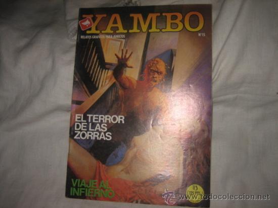 YAMBO Nº 15 EDICIONES ZINCO RELATOS GRAFICOS PARA ADULTOS (Tebeos y Comics - Zinco - Otros)
