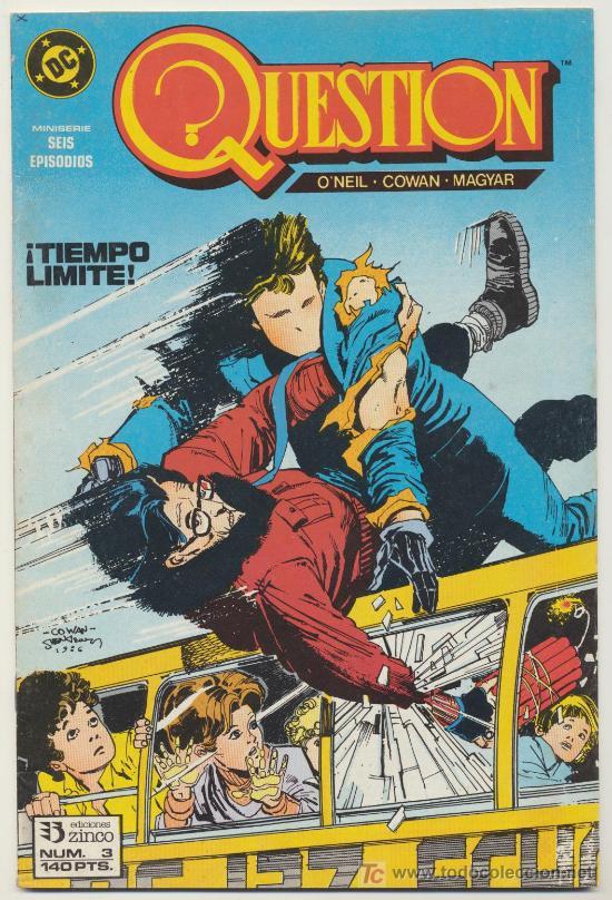 QUESTION Nº 3 (Tebeos y Comics - Zinco - Question)