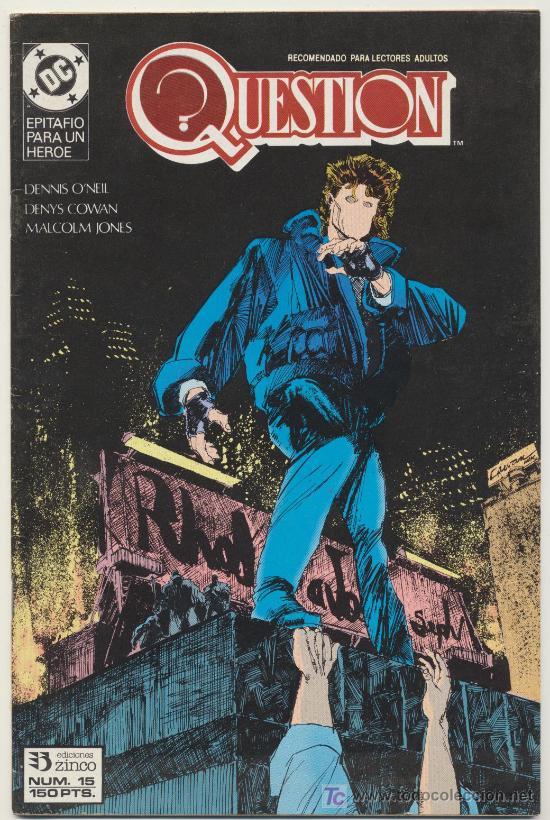 QUESTION Nº 15 (Tebeos y Comics - Zinco - Question)
