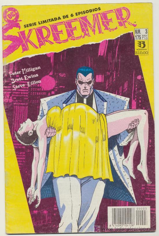 SKREEMER Nº 3 (Tebeos y Comics - Zinco - Otros)