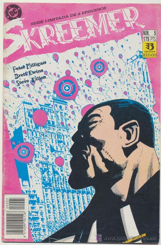 SKREEMER Nº 5 (Tebeos y Comics - Zinco - Otros)