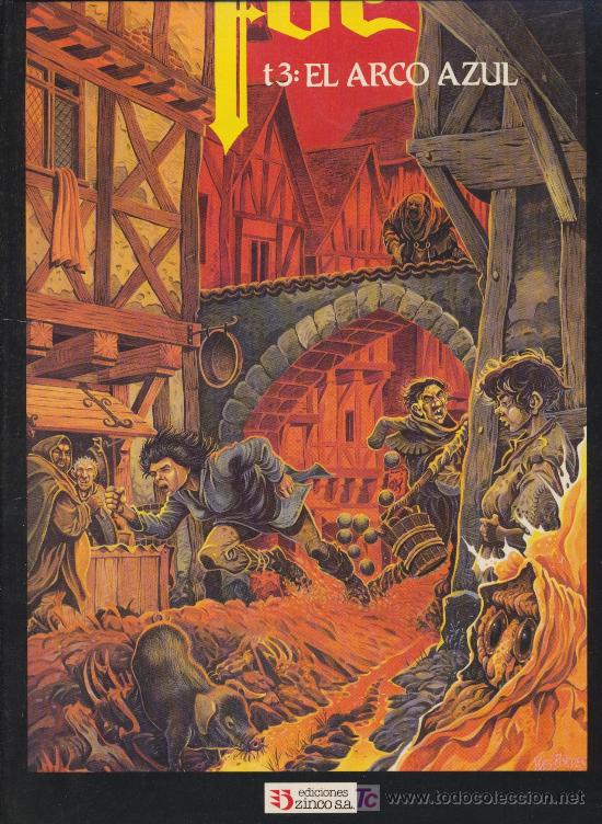 FOC T3 ''EL ARCO AZUL'' (Tebeos y Comics - Zinco - Otros)