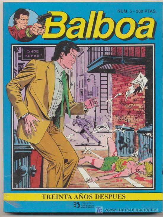 BALBOA Nº 5 (Tebeos y Comics - Zinco - Otros)