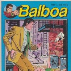 Cómics: BALBOA Nº 5. Lote 18911196