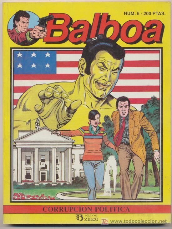 BALBOA Nº 6 (Tebeos y Comics - Zinco - Otros)