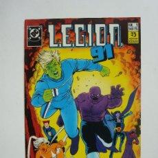 Cómics: LEGION 91 Nº 1 - DC (ZINCO) 1991. Lote 18915832
