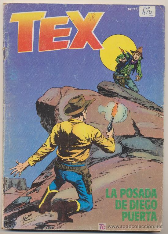 TEX Nº 11. (Tebeos y Comics - Zinco - Otros)