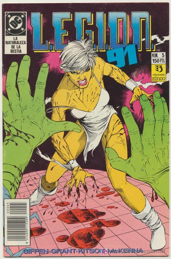 LEGIÓN 91 Nº 5 (Tebeos y Comics - Zinco - Legión 91)