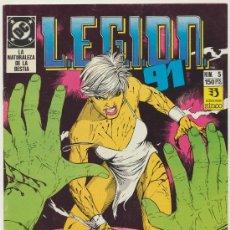 Cómics: LEGIÓN 91 Nº 5. Lote 77968305