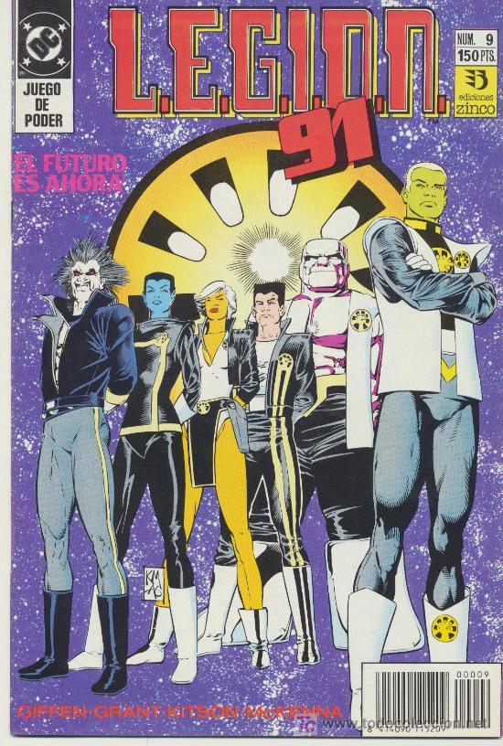 LEGIÓN 91 Nº 9. (Tebeos y Comics - Zinco - Legión 91)