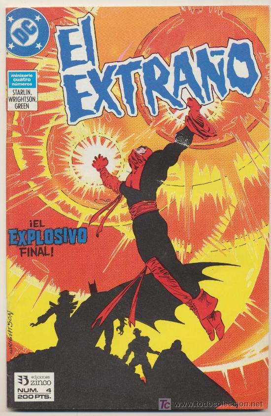 EL EXTRAÑO Nº 4 (Tebeos y Comics - Zinco - Otros)