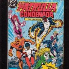 Cómics: PATRULLA CONDENADA - TOMO RECOPILATORIO CON LOS Nº 5 AL 8. Lote 19406949