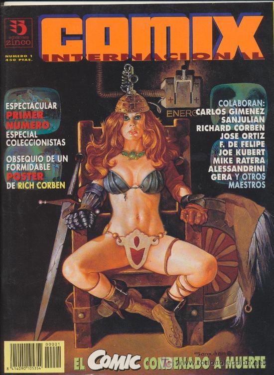 COMIX INTERNACIONAL. LOTE DE 4 EJEMPLARES . IMPECABLE (Tebeos y Comics - Zinco - Otros)