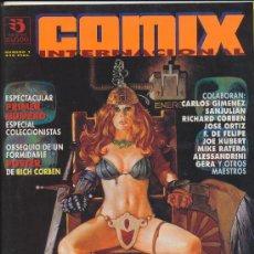 Cómics: COMIX INTERNACIONAL. LOTE DE 4 EJEMPLARES . IMPECABLE. Lote 19478164