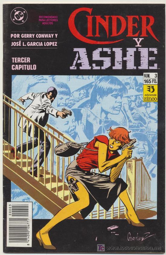 CINDER Y ASHE Nº 3 (Tebeos y Comics - Zinco - Otros)