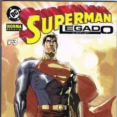 Cómics: SUPERMAN LEGADO LIBRO 3 POR MARK WAID Y LEINIL F YU. Lote 26163466
