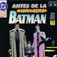 Cómics: BATMAN ANTES DE LA HORA CERO POR DIXON, NOLAN Y MCLEOD. VOLUMEN ESPECIAL 100 PAGINAS. Lote 27365376