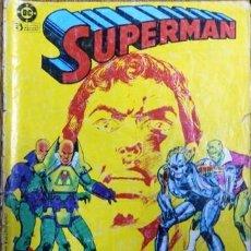 Cómics: SUPERMAN # 22 LEX LUTHOR PRIMERA SERIE EDICIONES ZINCO 1984 QUINTO ULTIMO NUMERO NOVARO. Lote 20784381