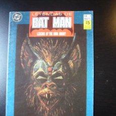 Cómics: LEYENDAS DE BATMAN Nº 1 ED. ZINCO 1990 ...........C9. Lote 23122938