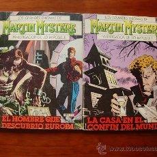 Cómics: MARTIN MYSTERE NUMEROS 6 Y 8 EDICIONES ZINCO. Lote 26497175