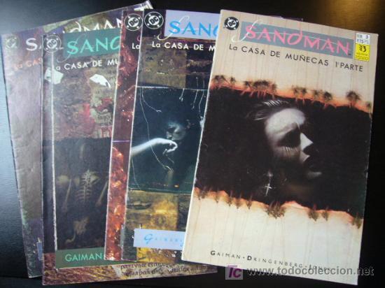 LOTE SANDMAN Nº 3 AL 7 NEIL GAIMAN LA CASA DE MUÑECAS ZINCO. TAMBIEN SUELTOS........C9 (Tebeos y Comics - Zinco - Otros)