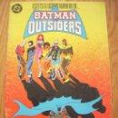 Cómics: BATMAN Y LOS OUTSIDERS Nº 24 (ÚLTIMO NÚMERO). Lote 21056353