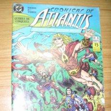 Cómics: CRÓNICAS DE ATLANTIS Nº 6 DE 7: GUERRA DE CONQUISTA (PETER DAVID Y ESTEBAN MAROTO). Lote 21060642