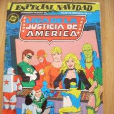 Cómics: LIGA DE LA JUSTICIA AMERICANA - Nº 2, ESPECIAL NAVIDAD, 46 PÁGINAS - . Lote 21074277