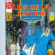 Cómics: LIGA DE LA JUSTICIA AMÉRICA. ED. ZINCO. NÚMEROS 48 Y 51.. Lote 25461280