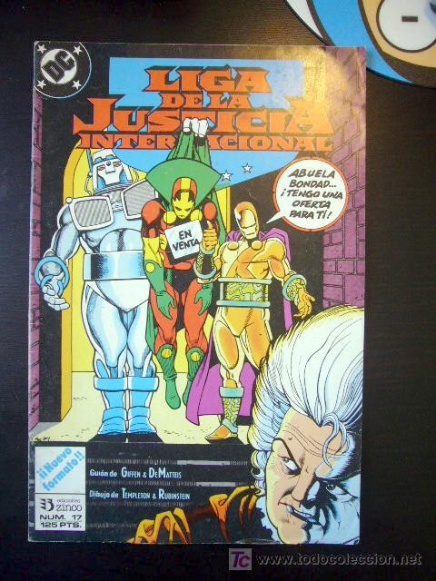 LIGA DE JUSTICIA Nº 17 GIFFEN ZINCO .............C9 (Tebeos y Comics - Zinco - Liga de la Justicia)