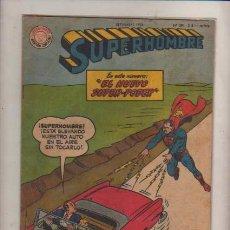 Cómics: SUPERMAN -SUPERHOMBRE EDICION ARGENTINA N- 291 PAG-ED. MUCHNICK-TIPO NOVARO SUPERMAN-DC-1960. Lote 24009027
