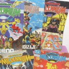 Cómics: LOTE 5 COMICS DE ... MILLENIUM - Nº 2 , 4 , 5 , 6 Y 8 ** EDICIONES ZINCO - AÑO 1988. Lote 25541465