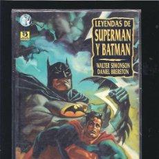 Cómics: LEYENDAS DE SUPERMAN Y BATMAN 1. Lote 21299244