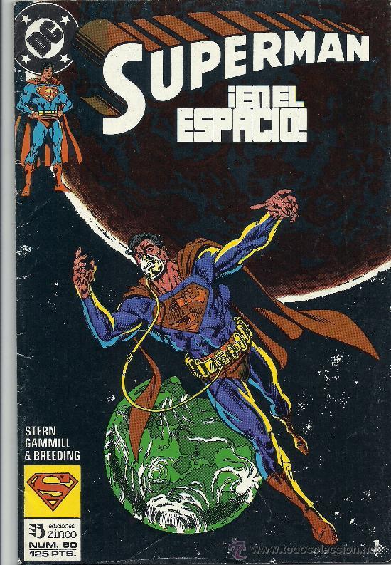 SUPERMAN EN EL ESPACIO Nº 60 (Tebeos y Comics - Zinco - Superman)