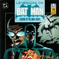 Cómics: LEYENDAS DE BATMAN , Nº13. Lote 26300881