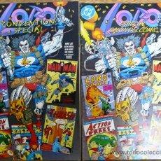 LOBO - DC ESPECIAL SALON DEL COMIC & CONVENTION SPECIAL - MISMO TEBEO EN INGLES Y CASTELLANO - JOYA