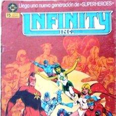 Comics: INFINITY INC # 1 - GENERACIONES - AÑO 1986 - EDICIONES ZINCO - ROY THOMAS & ORDWAY - 36 PAG - JOYA. Lote 22015858