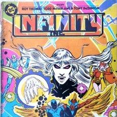 Cómics: LOTE DE 10 INFINITY INC # 10 GENERACIONES AÑO 1986 ED ZINCO ROY THOMAS & MCFARLANE 36 PAG EXCELENTE. Lote 22015973