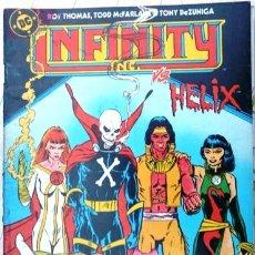 Cómics: LOTE DE 10 INFINITY INC # 12 MR. HUESOS AÑO 1986 EDICIONES ZINCO ROY THOMAS & MCFARLANE 36 PAG. Lote 22016155