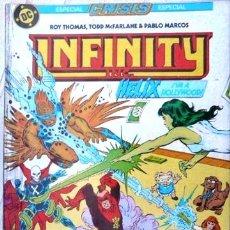 Cómics: INFINITY INC # 13 HELIX EDICIONES ZINCO 1986 ROY THOMAS & MCFARLANE 36 PAG EXCELENTE. Lote 22016251