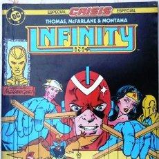 Cómics: INFINITY INC # 14 - MEKANIQUE - AÑO 1986 - EDICIONES ZINCO - ROY THOMAS & MCFARLANE - 36 P - JOYA. Lote 22016571
