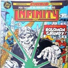 Comics: INFINITY INC # 20 - FEITHERA BAJO TORMENTA - AÑO 1986 - ED ZINCO - ROY THOMAS & MCFARLANE -36 P-JOYA. Lote 22111468