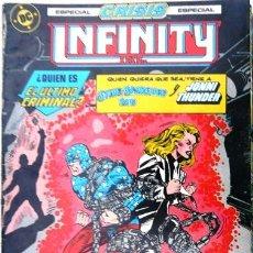 Comics: INFINITY INC # 21 - REGRESO DEL FUTURO - AÑO 1986 - ED ZINCO - ROY THOMAS & MCFARLANE - 36 P - JOYA. Lote 22111480