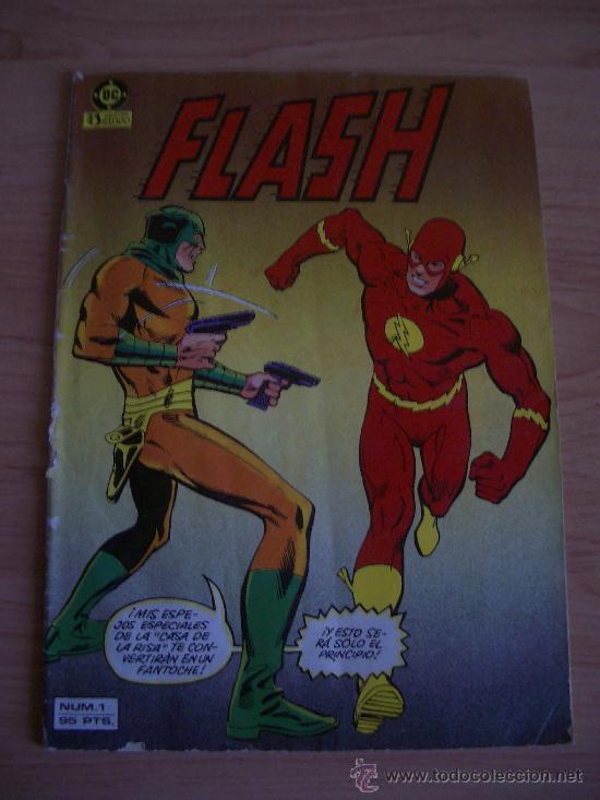FLASH Nº1. DC COMICS. EDICIONES ZINCO. (Tebeos y Comics - Zinco - Otros)